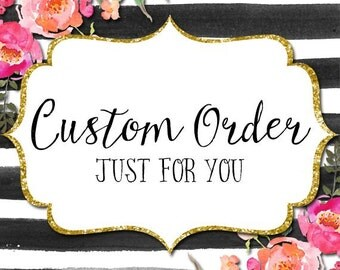 Custom Pillow order for Lisa N.