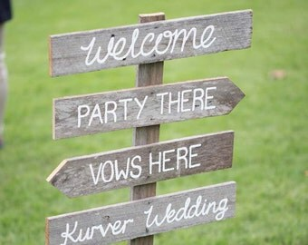 Wedding Signs - made to order