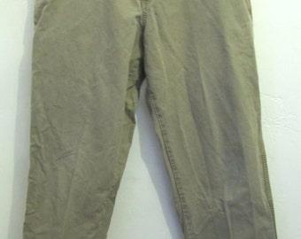Men's,FLAT FR0NT Outdoor Worker KHAKI Type Pants By COLUMBIA.36x34