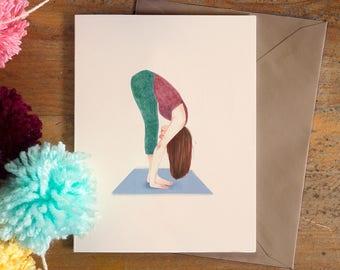 Yoga poster   inhale exhale   yoga art   yoga print   yoga lovers   yoga illustration   chakras   yoga poses   zen   meditation art   peace