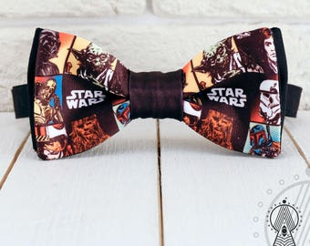 Star Wars Bow Tie, Comics pattern, Men's bow tie, Women's bow tie, Children's bow tie