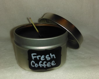 Fresh Coffee Tin