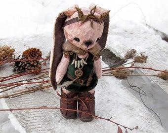 Teddy Celtic Druid Bunny Queen