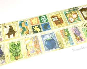 Harry Potter stamps washi tape (T00880)