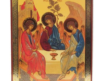 Trinity russian icon - #132bb