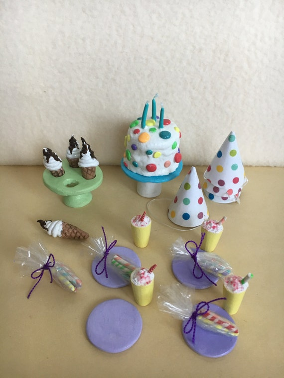 Barbie Doll Clothes, Barbie Doll Cake Set , Doll Birthday Cake, Doll ...