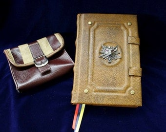 The Witcher Triss Marigold Spell Book Replica Journal - Kindle / iPad / eReader Tablet Cover (Inspired by The Witcher)