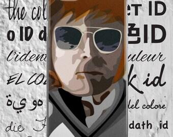 John Lennon - iPhone Case - iPhone 5/5s/SE - iPhone 6/6s - iPhone 6 Plus/6s Plus - iPhone 7/7 Plus - Abstract Art - Illustration - Graphic