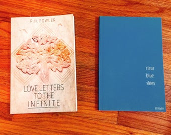 Signed Book Bundle (Love Letters To The Infinite + Clear Blue Skies)