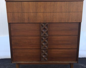 Mid Century Bassett chest of drawers