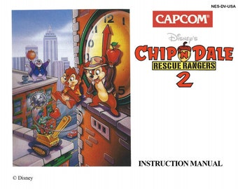Chip N Dale 2 manual