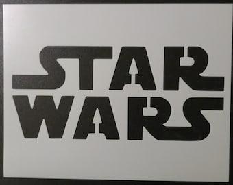 Star Wars Stencil FAST FREE SHIPPING
