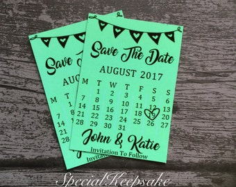 Personalised Save The Date Fridge Magnet Wedding Mr & Mrs Guests Family Friends Bride Groom Invitation Ring Church Calendar