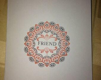 For A Friend Card