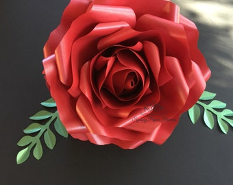 Paper flower ROSE/Paper flower wall/Backdrop/Wedding backdrop/Baby shower/Bridal shower/Christening/Centerpiece/Birthday party/Sweet 16