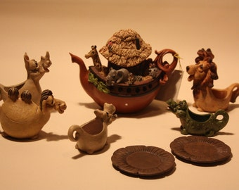 Vintage Noah's Tea Set