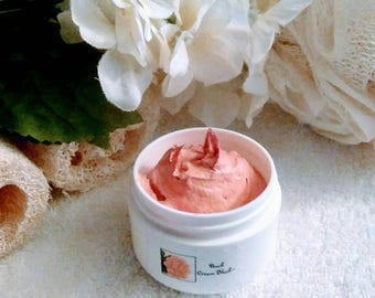 Peach Gold Sheer Blush~Peach Blush~Sheer Blush~Cream Blush~Cheek Cosmetic~Organic Makeup~Peach Cheek Color~Shimmer Blush~