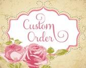 Custom Order - Exploding box for Maria