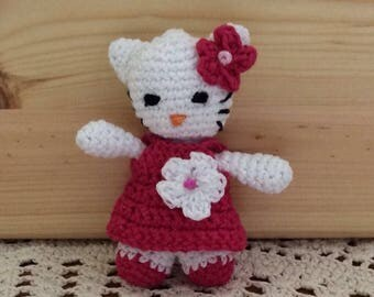 HELLO KITTY crochet. Amigurumi