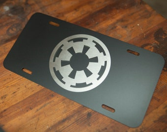 Star Wars Imperial Crest License Plate
