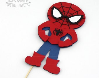spiderman cake topper | superheroes inspired by marvel comics spiderman
