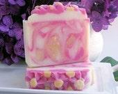 Plumeria Soap - Floral Soap - Vegan Soap - Palm Free Soap - Cold Process Soap - Artisan Soap - Homemade Soap - Coconut Milk Soap - Gift Soap