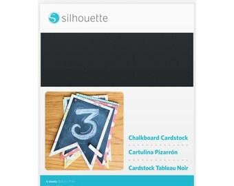 Silhouette Chalkboard Cardstock