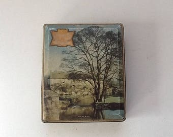 Vintage Tin / Edward Sharp & Sons Candy Tin / Maidstone Kent  / Vintage Toffee Tin
