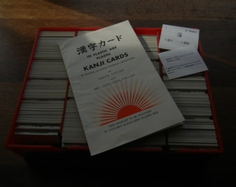 Kanji Cards by Vaccari ~ August 1960 First Edition