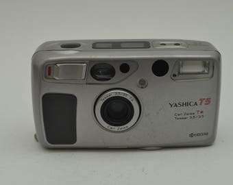 Yashica T5 Point and Shoot Camera with Case