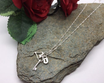 You Hold The Key To My Heart Charm Necklace