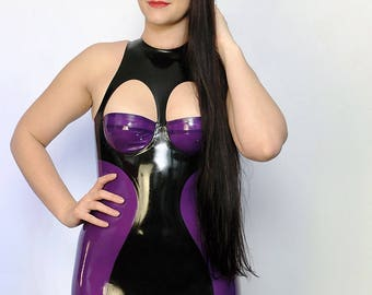 Tentation latex dress