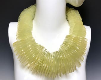 Ports 1961 Handmade Runway Resin Necklace Womens Gifts