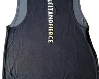 beFITandFIERCE workout tank