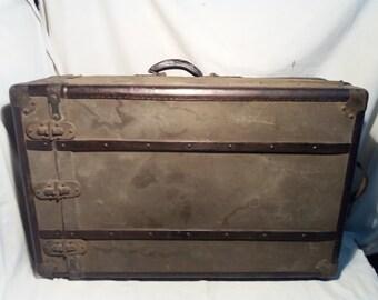Vintage Big Suitcase - Wardrobe.Made in GERMANY