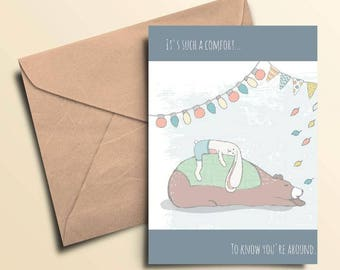 Such A Comfort Note Cards - Box of 10 With Envelopes