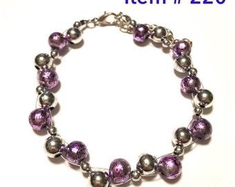 Item # 220 - Beaded Bracelet