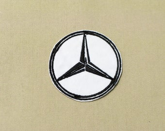 Mercedes emblem etsy for Mercedes benz star logo