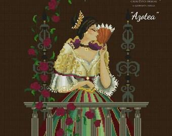 AZOTEA by Bella Filipina Cross Stitch Designs