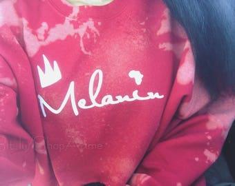 Melanin Cropped Crewneck