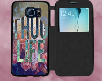 Thug life case etsy thug life floral background phone case for samsung galaxy s6 s6 edge s7 voltagebd Images