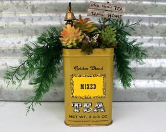 Tea Tins Etsy