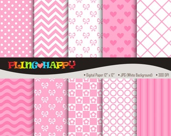 70% OFF Sweet Pink Digital Papers, Sweet Pink Digital Papers Graphics, Personal & Small Commercial Use, Instant Download