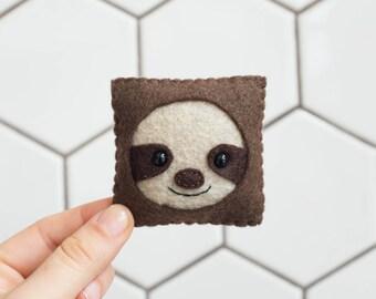 Sloth Felt Face