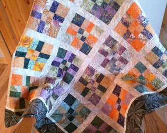 Disappearing Nine Patch Special Lap Quilt