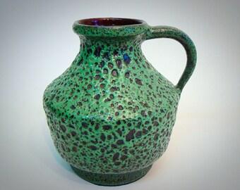 Vintage West germany Sixties Fat Lava Kreutz vase 411