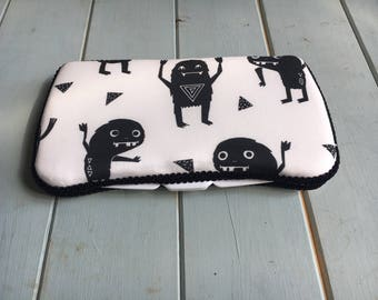 Monsters, Wipe Case, Wipes Case, Baby Wipe Case, Baby Wipes Case, Wipes Holder, Travel Wipes Case, Diaper Bag, Baby Gift, Baby Shower