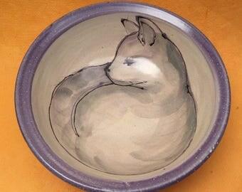 Ceramic Kitty Bowl