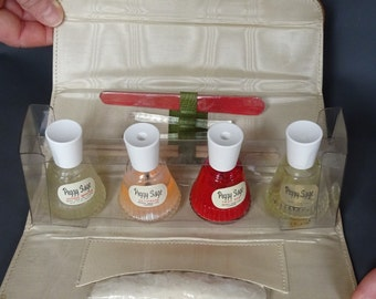Vintage 1950s/50s Peggy Sage MANICURE SET Packaging Boudoir