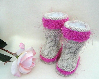Crochet Baby Shoes Baby Girl Crochet Baby Booties Newborn Knitted Baby Booties Knit Shoes Infant Girl Crochet Baby Girl